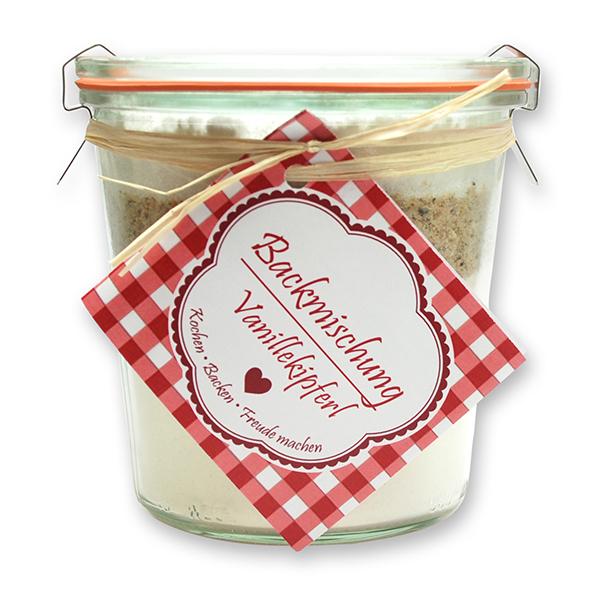 Weihnachtliche Backmischung Vanillekipferl