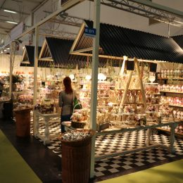 Chocolina Messestand