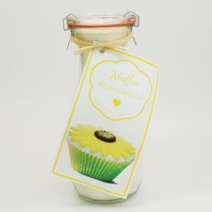 Muffin Backmischung Weiße Schokolade