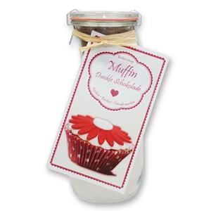 Muffin Backmischung Dunkle Schokolade