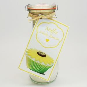 Muffin Backmischung Schoko Banane