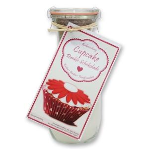 Backmischung Cupcake Dunkle Schokolade