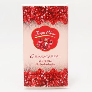 Gefüllte Schokolade Granatapfel