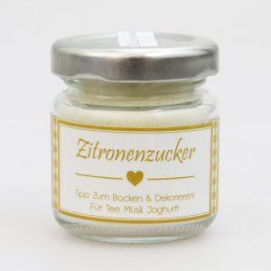 Zitronenzucker