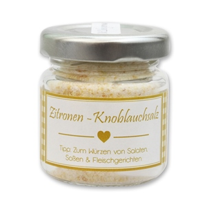 Zitronen-Knoblauchsalz