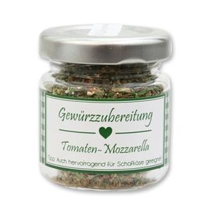 Gewürzzubereitung Tomaten-Mozzarella