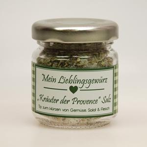 Gewürzmischung Kräuter der Provence Salz