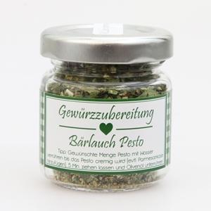 Gewürzzubereitung Bärlauch Pesto