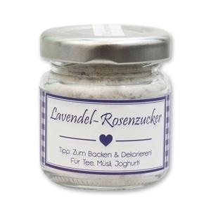 Lavendel-Rosenzucker