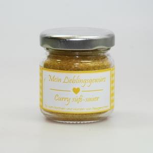 Gewürzmischung Curry süß-sauer