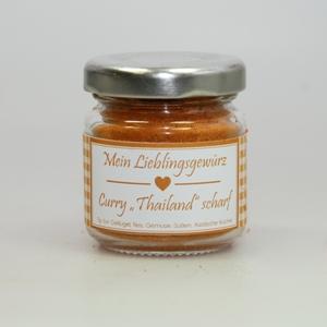 Gewürzmischung Curry Thailand scharf