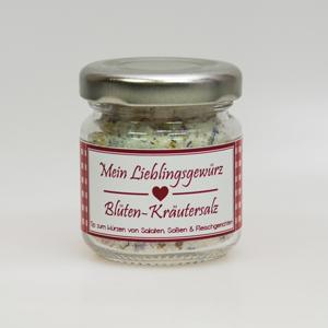 Gewürzmischung Blüten-Kräutersalz