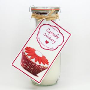 Cupcakes Backmischung Cranberry