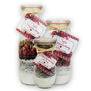 Süße Sirupmischung Bunter Beerenmix