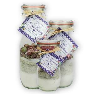 Süße Sirupmischung Lavendeltraum