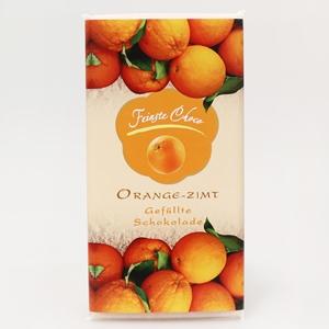 Gefüllte Schokolade Orange-Zimt