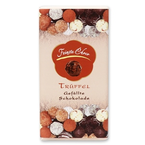 Gefüllte Schokolade Trüffel
