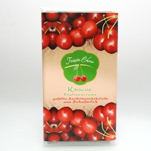 Gefüllte Schokolade Kirsche