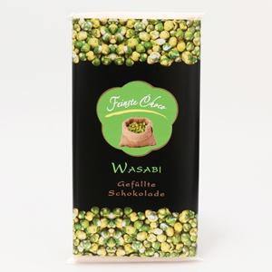 Gefüllte Schokolade Wasabi
