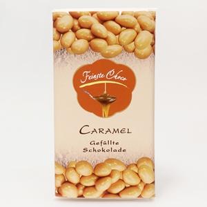 Gefüllte Schokolade Caramel