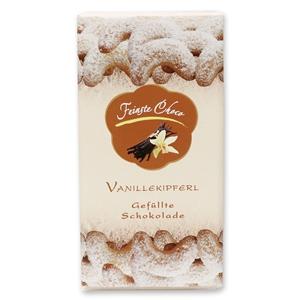 Gefüllte Schokolade Vanillekipferl