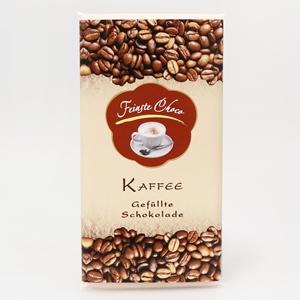 Gefüllte Schokolade Kaffee