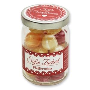 Süße Zuckerl Pfefferminz