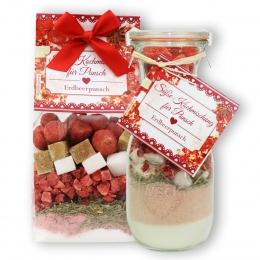 Süße Kochmischung für Erdbeerpunsch