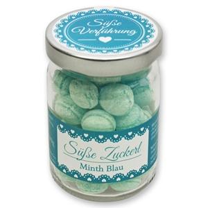 Süße Zuckerl Minth Blau