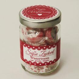 Süße Zuckerl Wintertraum