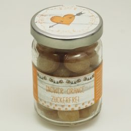Zuckerl Sweet Heart Ingwer-Orange zuckerfrei