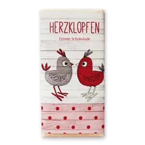 """""""Herzklopfen"""" Sweetheart Vollmilchschokolade"""