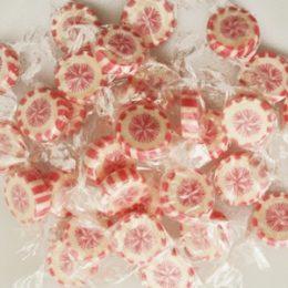 Süße Zuckerl Schneeflöckchen