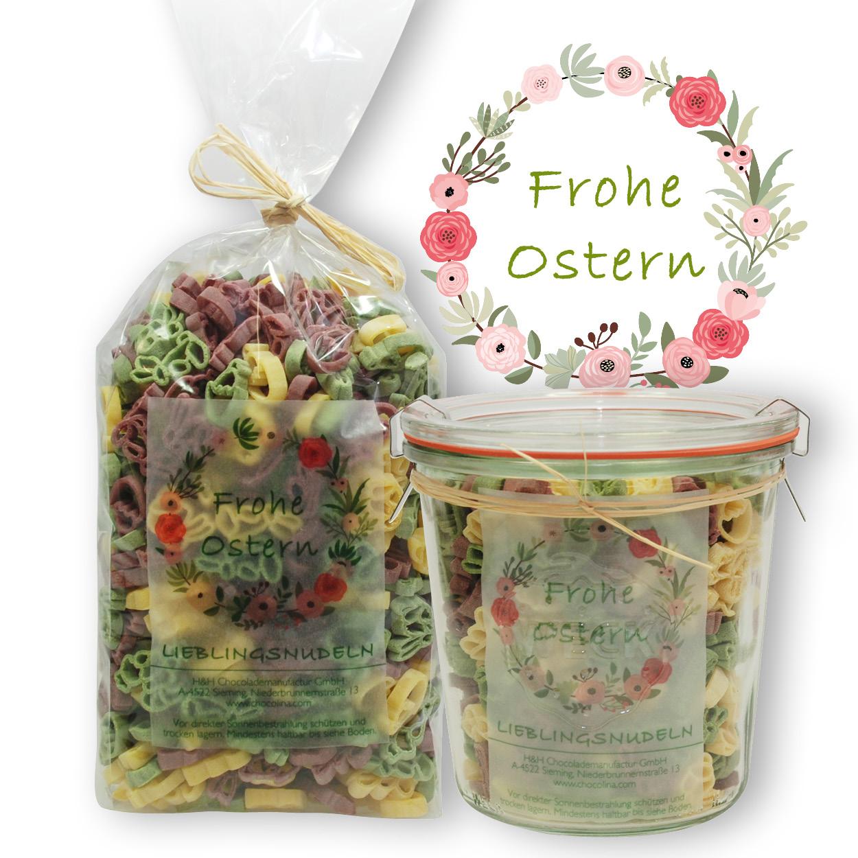 Lieblingsnudeln Mix Frohe Ostern