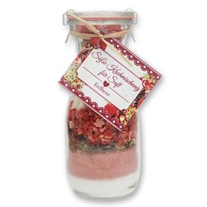 Süße Kochmischung für Erdbeersaft