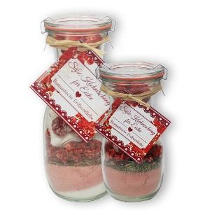 """Süße Kochmischung für Eistee """"Romantische Erdbeerliebe"""""""