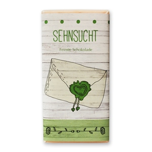 """Sehnsucht"" Sweetheart Vollmilchschokolade"