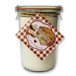 Brot Backmischung für Kräuterbrot mit Käse