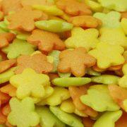 Zuckerdekor Blütenmix