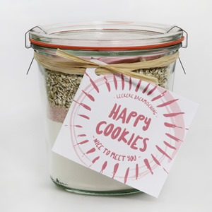 "Happy Cookies Backmischung ""Nice to meet you"""