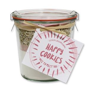 """Happy Cookies Backmischung """"Nice to meet you"""""""