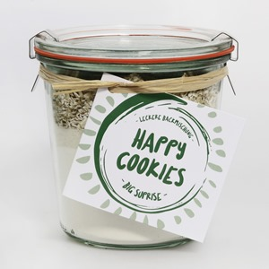 "Happy Cookies Backmischung ""Big surprise"""