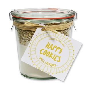 "Happy Cookies Backmischung ""Smile everyday"""