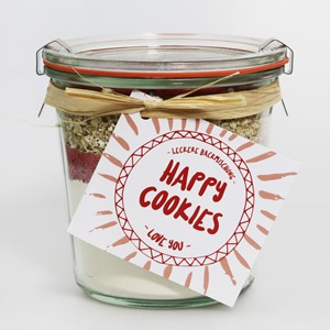 "Happy Cookies Backmischung ""Love you"""
