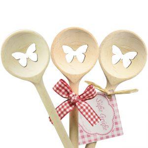 Kochlöffel Schmetterling rund