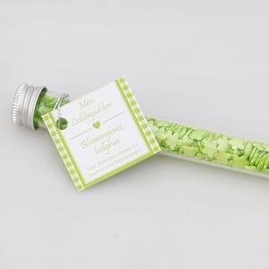 Mein Lieblingsdekor Blumenglanz, hellgrün