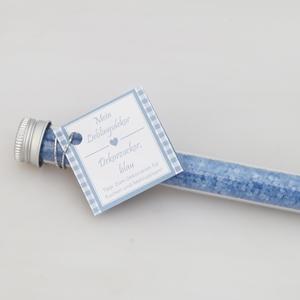 Mein Lieblingsdekor Dekorzucker, blau