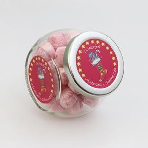 Süße Zuckerl zuckerfrei Pink Flamingo