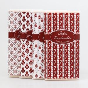 Winter Poesie rot Schafmilchschokolade
