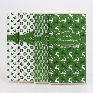 Winter Poesie grün Schafmilchschokolade